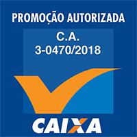 Selo Caixa Econômica - Promoção Autorizada